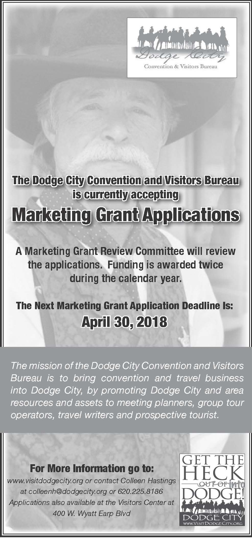 Marketing Grant Applications Flyer