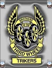 Brothers of the Third Wheel National Trike-In Logo
