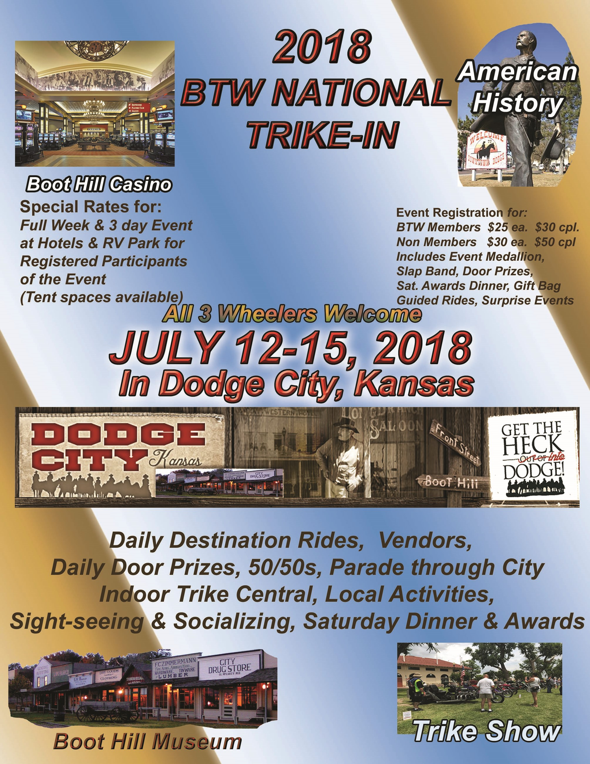 Brothers of the Third Wheel National Trike-In 2018 Flyer