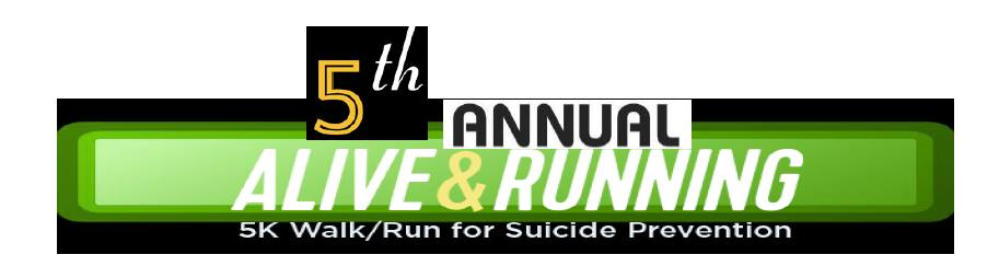 Ford County Suicide Prevention Coalition - 5th Annual Alive and Running 5K