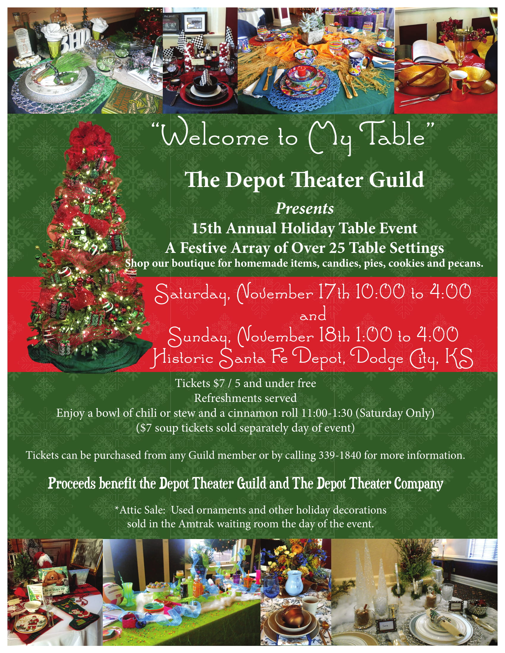 Guild Holiday Tables Poster