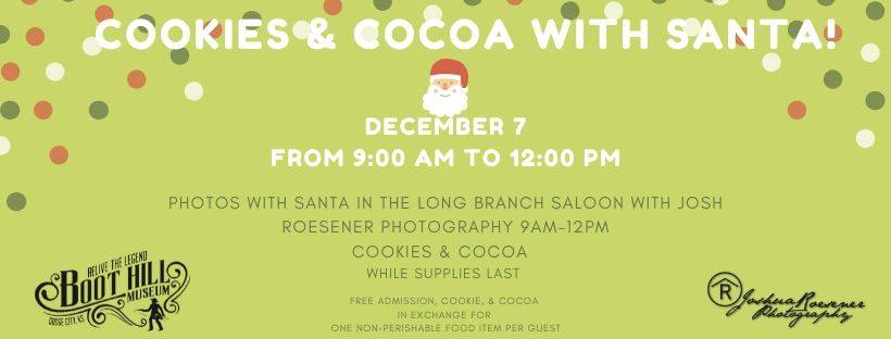 Boot Hill Museum - Cookies with Santa