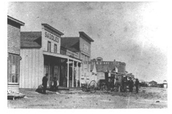 Front Street in Dodge City