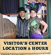 Visitor's Center Location and Hours