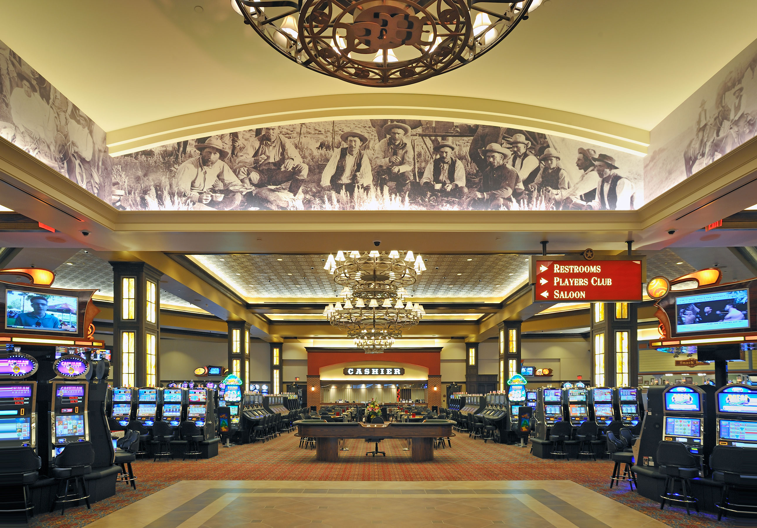Boot Hill Casino Interior