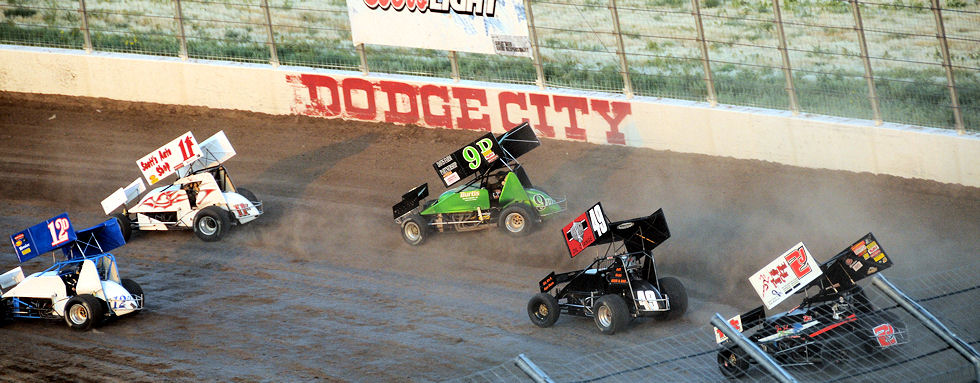Dodge City Raceway Park - 305 Sprint Cars