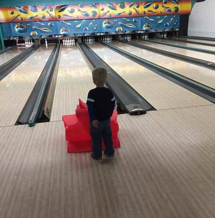 Spare Tyme Bowl Kids bowling with Slide