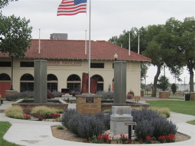 Hoover Pavilion at Liberty Park in Dodge City, Kansas